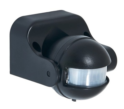 Датчик движения LED PIR IP44 1200W PR013-black
