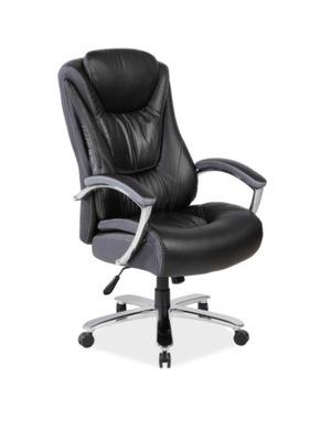 Stolička kancelárska otočná stolička KONZUL - black