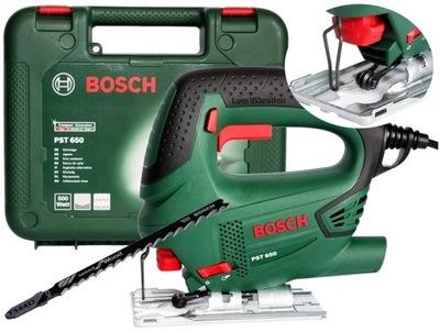 Bosch PST 650 ЭЛЕКТРОЛОБЗИК 500ВТ +Чемодан +лезвие