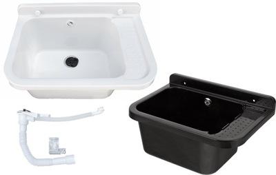 раковина  хозяйственный отсек pralnicza 50 см оборудовать сифоном