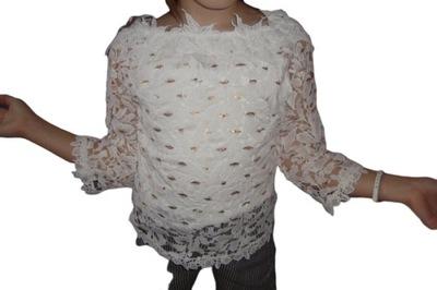 Bluzka biała elegancka 146152 8626911168 oficjalne