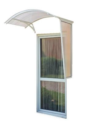 Strieška nad vchodové dvere baldachýn nad dverami 145 x 70 STENU polykarbonátu 130