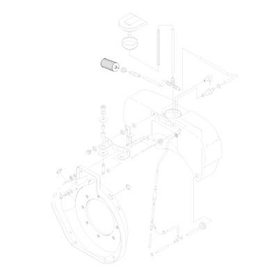 фильтр топлива 1B20 1B30 SN70145 HIFI Замена
