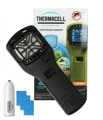 MR300 THERMACELL MOSQUITO REPELLER ČIERNA
