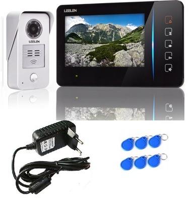 Видеодомофон LEELEN 7cal JB305 N60/No15nc 6xbrelok