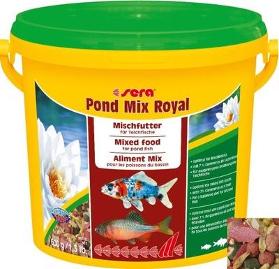 Sera Pond Mix Royal krmivo Očko Rybník 21L 3.5 kg