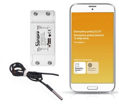 Sonoff датчик температуры DS18B20 услуга HomeKit
