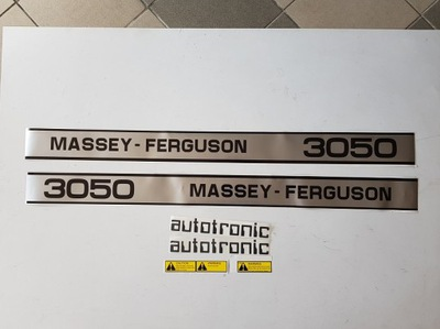 Наклейки на трактор MASSEY-FERGUSON MF 3050