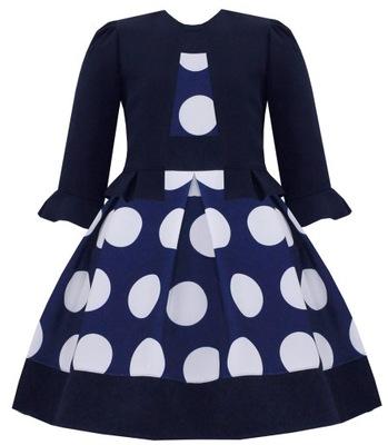 9bb855dc sukienka szkoła 146 - 7526181556 - oficjalne archiwum allegro