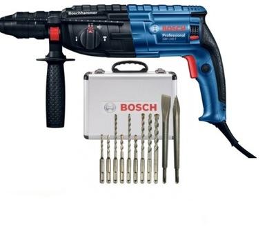 строительный ??????????  Bosch УТОЧНЯЮ-240 F +11 СВЕРЛ И ЗУБИЛ