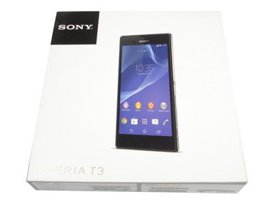 Nowa Sony Xperia T3 Czarna 8gb Lte D5103 Pl 7086531310 Oficjalne Archiwum Allegro