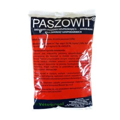 Paszowit 1 КГ, мясо птицы дрожжи витамины для кур корм