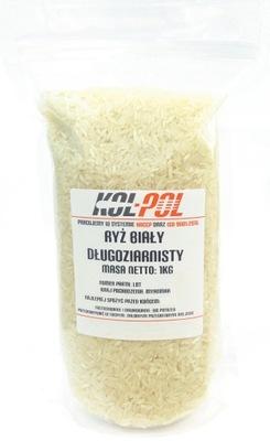 Рис Белый светлый длиннозернистый 1кг 1000g
