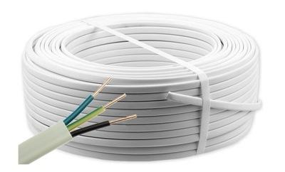 Elektrický kábel YDYp 3x1.5 450/750V PLOCHOU 100