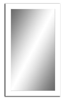 зеркало белое 120x60 10 ЦВЕТА, 40 ФОРМАТЫ +