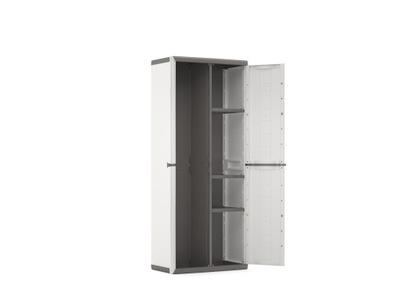 шкаф пластиковая высокая 166 см  совместно