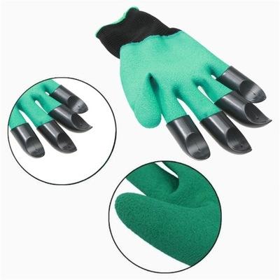 перчатки перчатки садовое КОГТИ ГРАБЛИ, ГРАБЕЛЬКИ