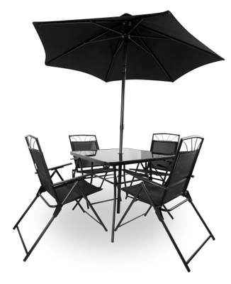 МЕБЕЛЬ садовое комплект стол стулья ЗОНТИК