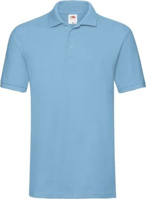 Koszulka Polo męska Fruit Premium SKY BLUE S