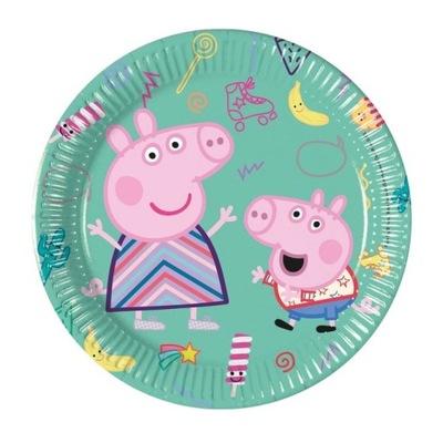 Тарелки Бумажные Peppa Pig -19 ,5 см-8 штук