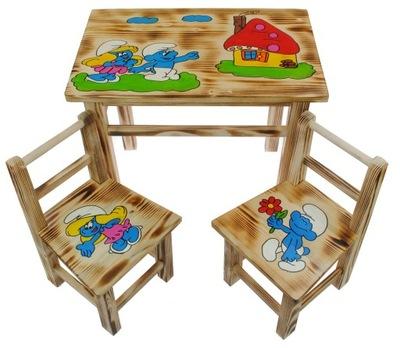 Журнальный столик + 2 стулья комплект для детей