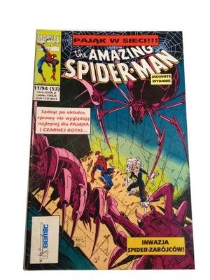 SPIDER-MAN 11/94 stan bdb