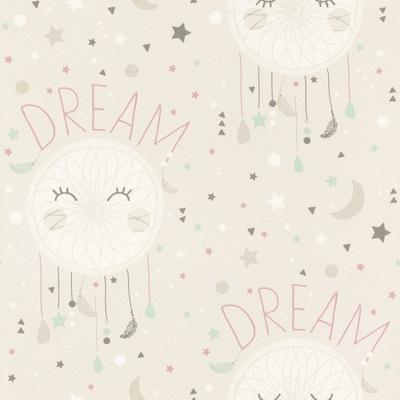 ОБОИ -для детей бежево-мятой Dream