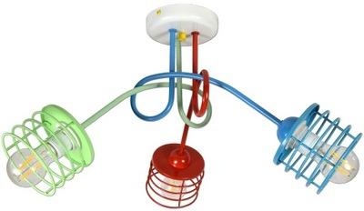 Потолок лампа люстра плафон для детей цвета