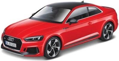 Audi RS 5 купе красный 1 :24 модель Bburago 21090