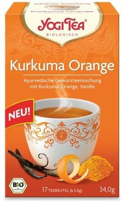 ??? Куркума + Апельсин ??? 17x2,0г Yogi Tea