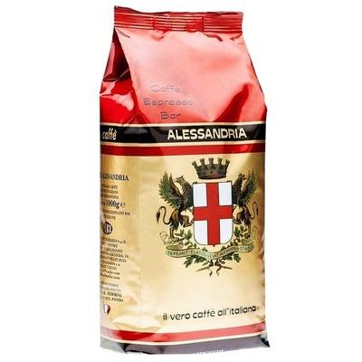 кофе в зернах ALESSANDRIA CAFFE 1 кг - свежий !!!