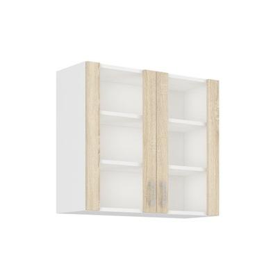 Шкаф кухонная ODETA - Новинка сонома и лефкас