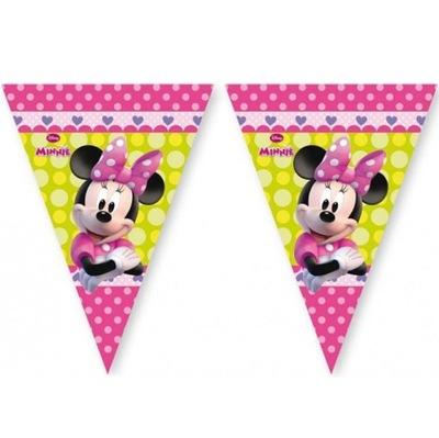 Баннер на день Рождения ФЛАГ-Мышка Минни -230 см