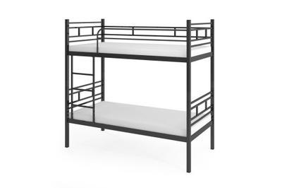 кровать КРОВАТЬ металлические AGNES Графит 80 Bonelowy