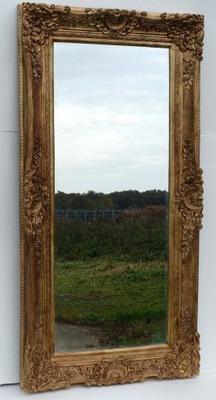 Золотые зеркало 182 x 92 ХРУСТАЛЬНЫЙ КУСОК