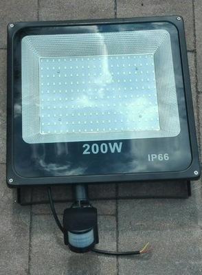 LAMPY HALOGÉNOVÉ OSVETLENIE-LED HOVOR. 200W S PIR DETEKTOR POHYBU [SU]