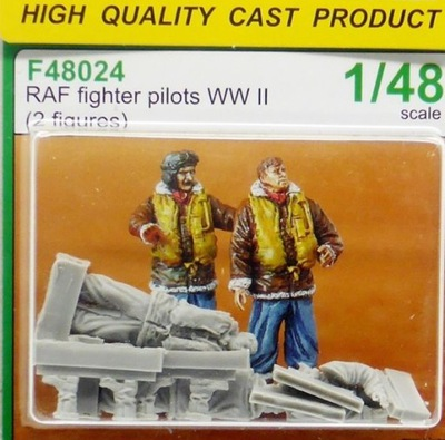 ??? F48024 RAF Fighter Pilots WW II 1 :48 24 часа
