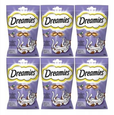 Dreamies с утка 60 ? x6 (360г)