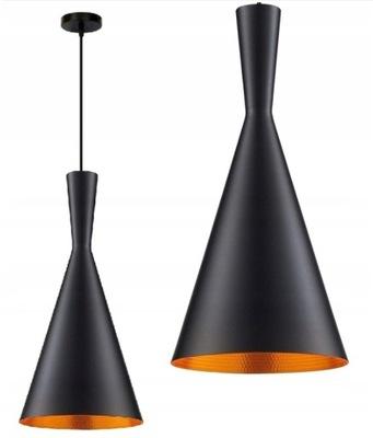 prívesok Lampa Loft Edison zlato Zlato E27 LED
