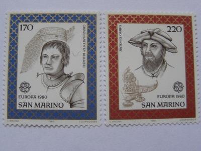 ??? - Марино - Europa CEPT 1980 - Ми. 1212-13 **