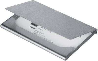 Wizytownik aluminiowy
