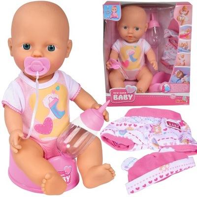 BÁBIKA NEW BABY BORN PIŤ a písať, 30 CM AKS. SIMBA