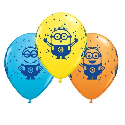 Воздушные шары на день Рождения Instagram миньоны - 6 штук