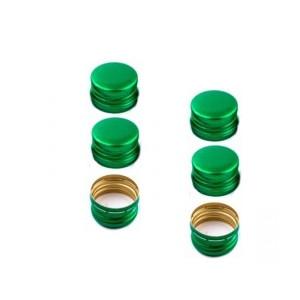 10ШТ КРЫШКА зеленый 28 x 18 ММ для БУТЫЛОК