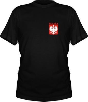 44d6768e25d054 Koszulka kibica T-shirt POLSKA - I love Poland 146 7383784022 ...