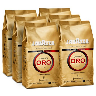 кофе в зернах Lavazza Qualita Oro 6x1kg