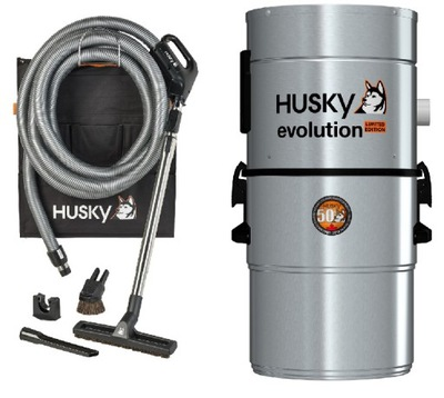 Пылесос HUSKY Evolution + Монтаж  !!!