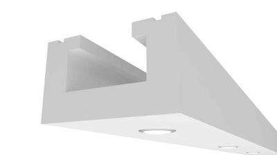 Потолок Instagram Карниза Освещения простой 2m