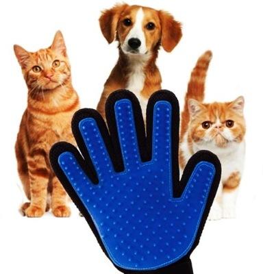 перчатка ??? wyczesywania шерсти собаки кошки кролика