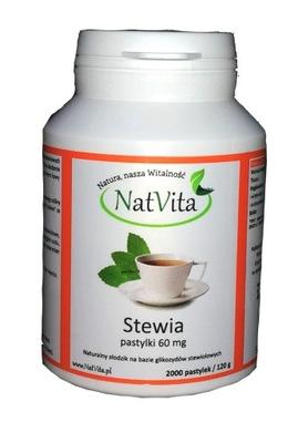 NatVita Стевия Стевия таблетки 60 мг 2000шт.